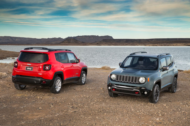 Novo Jeep Renegade 2016 - 4x4