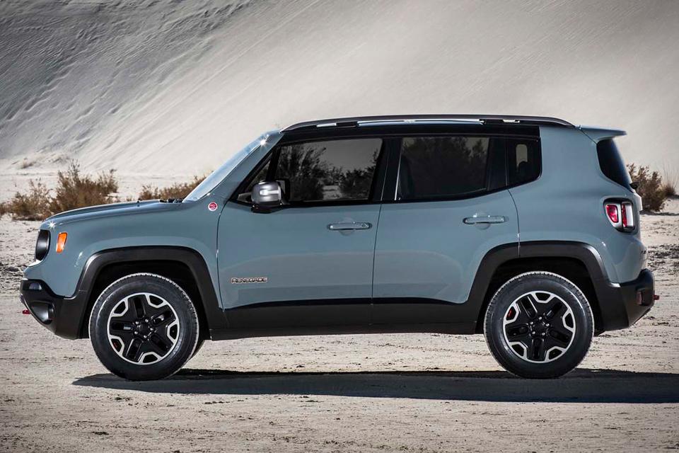 Novo Jeep Renegade 2016 - Versões e Consumo