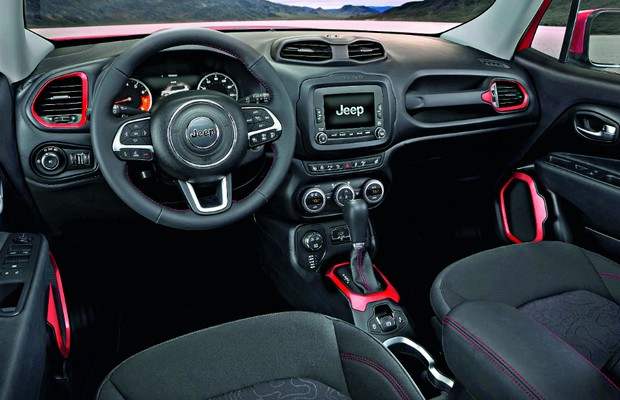 Novo Jeep Renegade 2016 - Interior