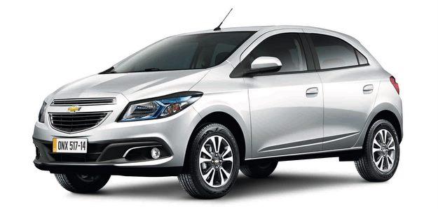 Chevrolet Onix 2015 3-4 Frente
