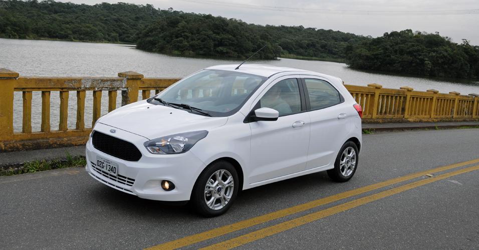 Novo Ford Ka 2016 - Consumo