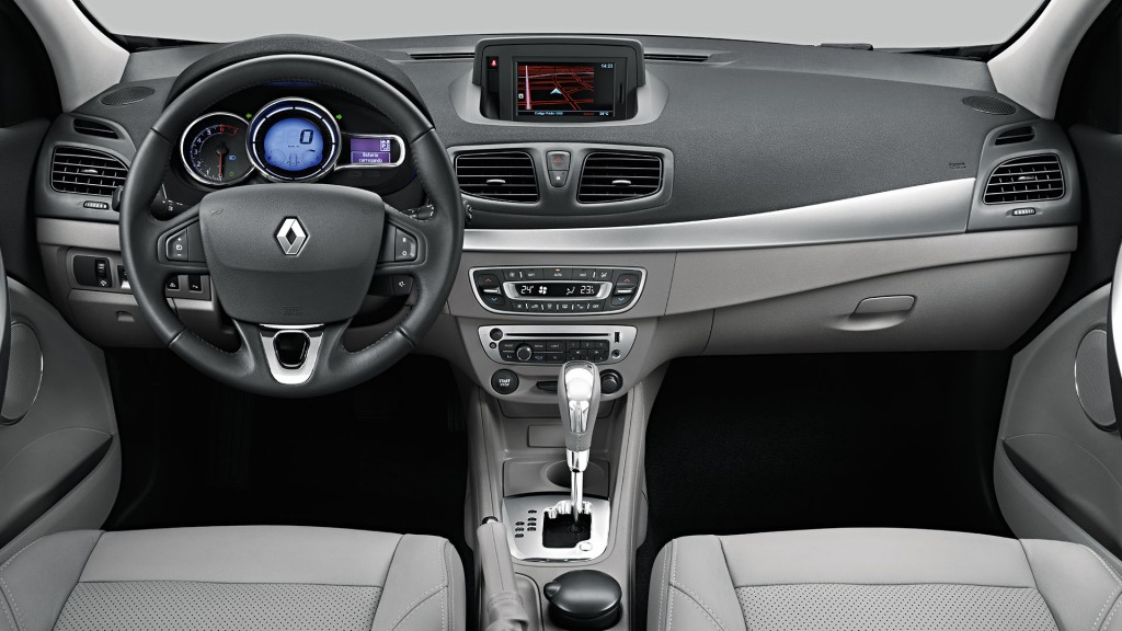 Novo Fluence 2016 interior