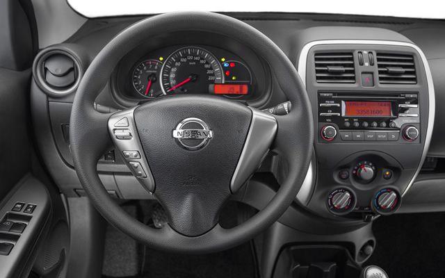 Novo Nissan March 2016 - Painel de instrumentos