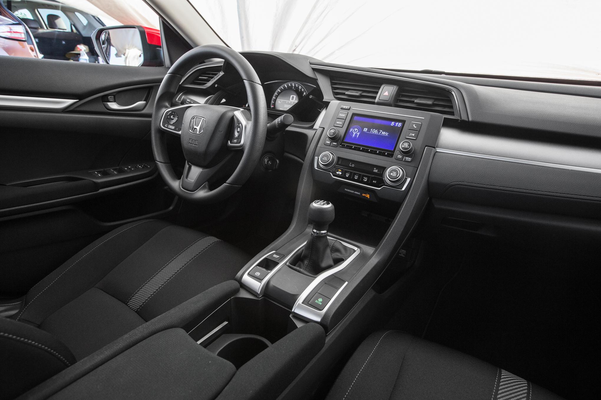 Conhe 231 A O Novo Honda Civic 2017 Pre 231 O Design Interior