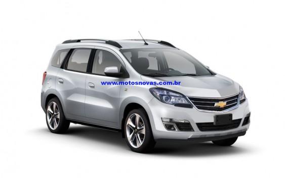 Chevrolet Lança Nova Spin 2017 com 7 Lugares. Veja o preço, interior, fotos e mais