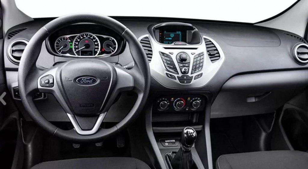 Nova Ford Ka 2017 - interior