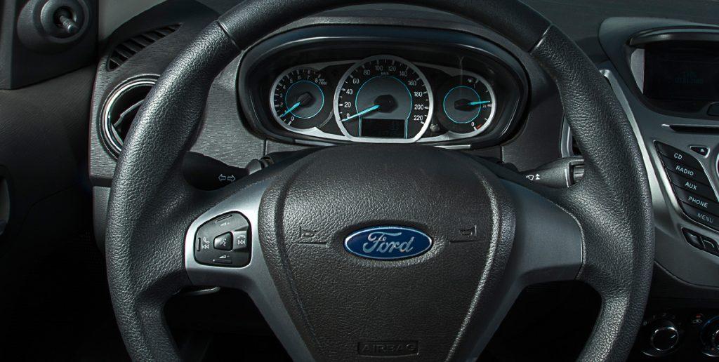 Nova Ford Ka 2017 - painel