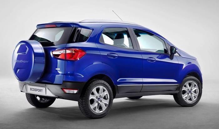 Ford Ecosport 2017 - Traseira, especificações