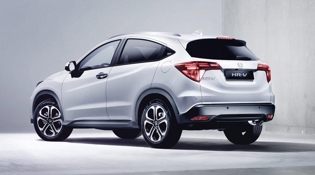 Honda HRV 2017 - Ficha Técnica