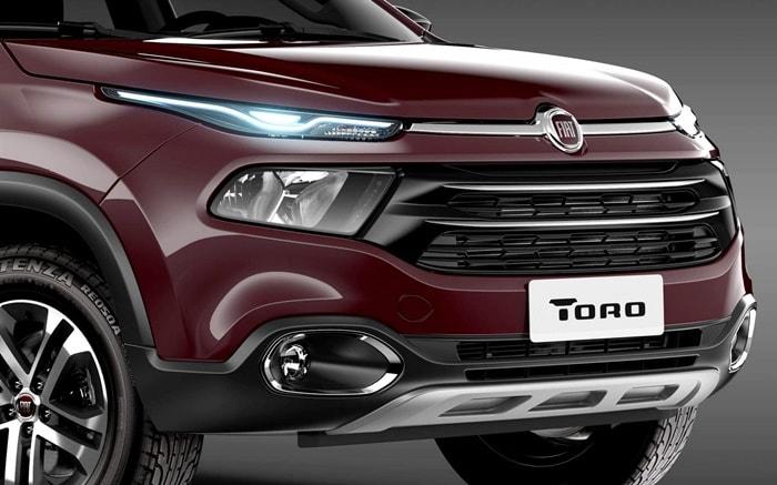 Novo Fiat Toro 2017 - especificações
