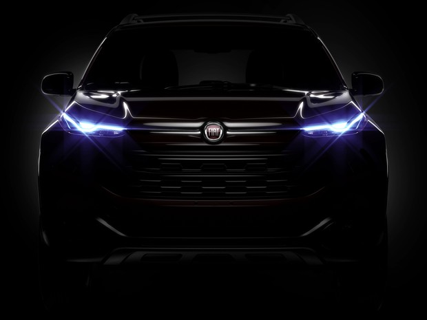 Novo Fiat Toro 2017 - farol de led