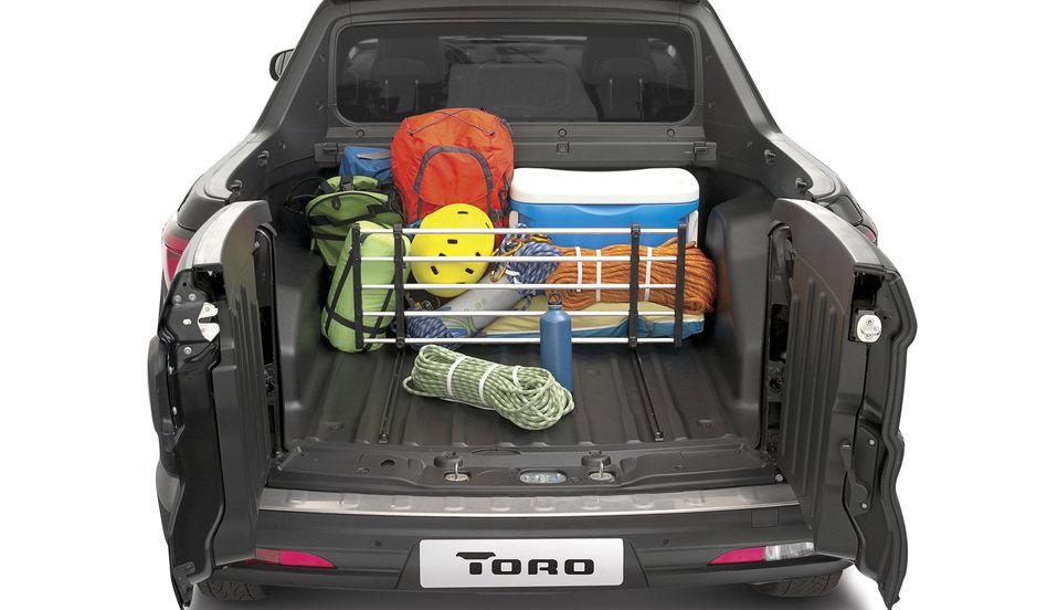 Novo Fiat Toro 2017 - caçamba