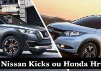 Honda Hrv ou Nissan Kicks – 2017, Preço, Consumo, Ficha Técnica