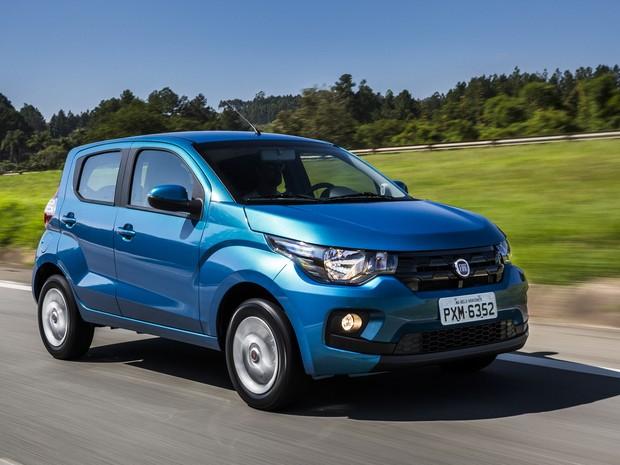 Fiat Mobi ou Volkswagen Up - Consumo