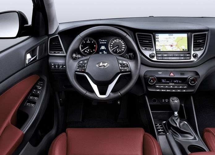 Hyundai Tucson 2017 - painel