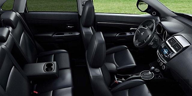 Mitsubishi ASX 2017 - por dentro, interior