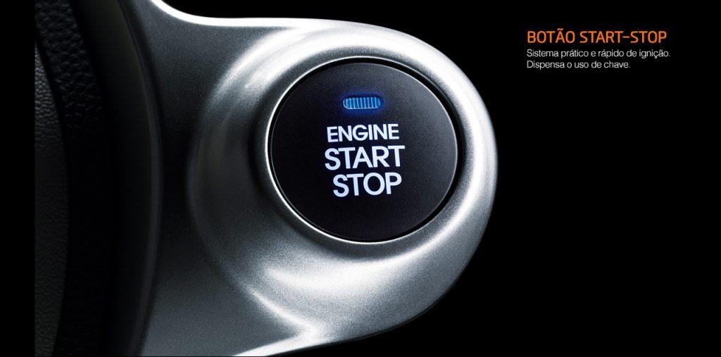 Hyundai Ix35 2017 - botão Star Stop