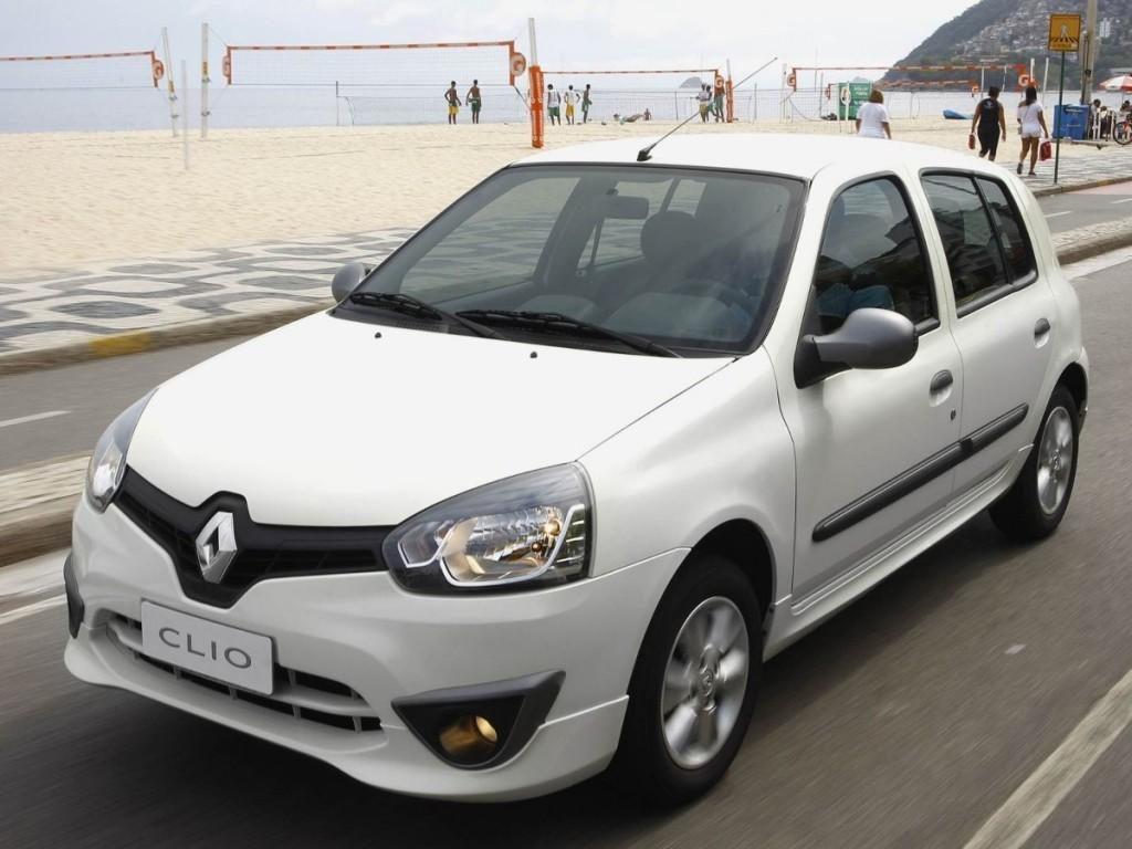 Novo Renault Clio 2017 - Consumo