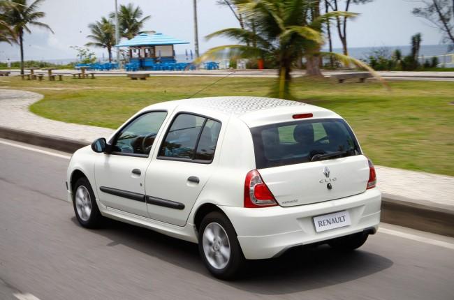 Novo Renault Clio 2017 - Consumo de combustível